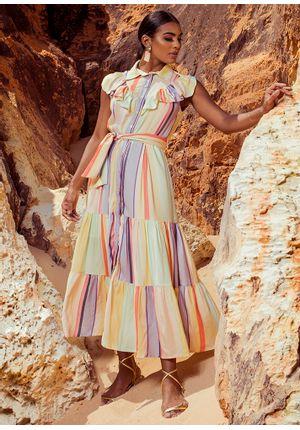 Vestido-Midi-Listrado-Colorful