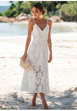 Vestido-Midi-Decote-Renda