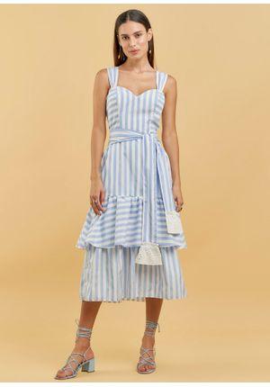 Vestido-Midi-Tricoline-Listrado