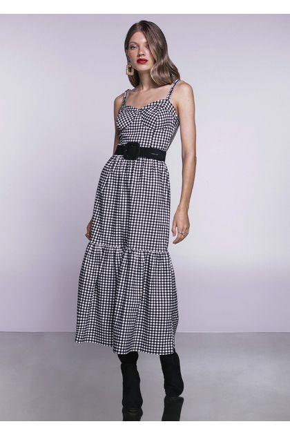 Vestido-Midi-Prosperidade-Xadrez