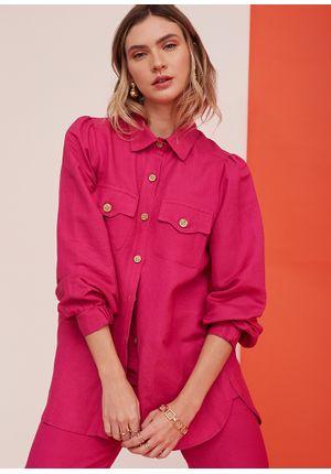 Camisa-Simple-Line-Rosa-Frente-