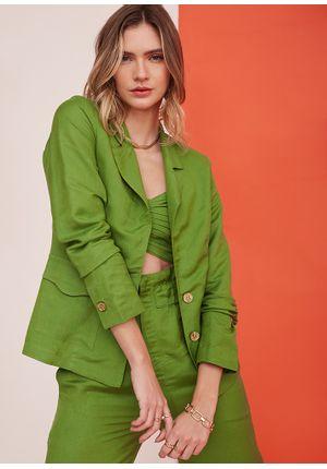 Blazer-Simple-Line-Verde-