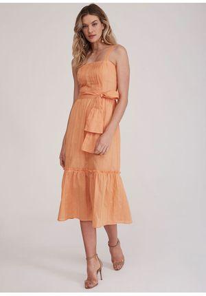 Vestido-Midi-Bordado-Laranja