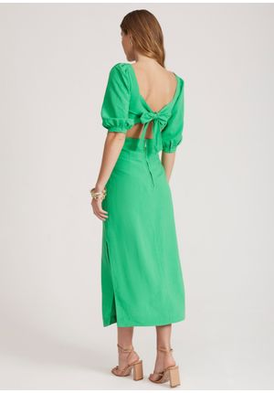 Vestido-Midi-Sky-Verde-Costas