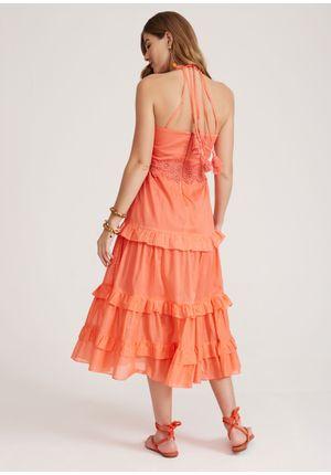 Vestido-Windy-Laranja-Costas