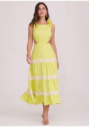 Vestido-Midi-Positano-Verde